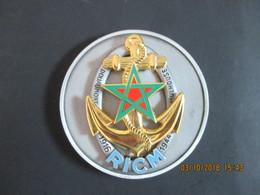 Médaille De Table Militaire, Régiment D'Infanterie De Chars De Marine RICM, Douaumont - Mulhouse, 1916, 1944, SUP - Army & War