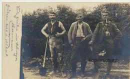 """AK """"Harte Arbeit Im Garten"""" - Guerra 1914-18"""