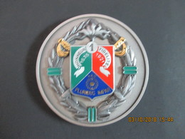 Médaille De Table Militaire, 1 REC, Honneur-Fidélité, 1635-1921, NEC Pluribus-Impar, SUP - Militaria