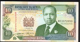 KENYA.  : 10 Schillings - 1994 - P24f - XF+ - Kenya