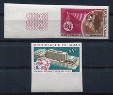 RC 10131 MALI UPU + UIT NON DENTELÉ NEUF ** TB MNH - UPU (Union Postale Universelle)