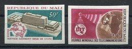 RC 10132 MALI UPU + UIT NON DENTELÉ NEUF ** TB MNH - UPU (Union Postale Universelle)