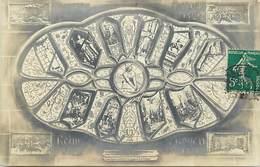 - Marne- Ref-A834- Reims - Vitraux Vie De Jeanne D Arc - Vitrail - Carte Bon Etat - - Reims