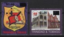 Trinidad & Tobago (2017) - Overprint Set -  /  Army - Architecture - Trinidad En Tobago (1962-...)