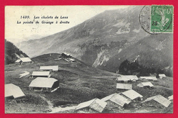 CPA Abondance - Les Chalets De Lens - La Pointe De Grange - Abondance