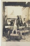 """AK """"Geschütz (Mörser) - In Feuerstellung"""" - Guerra 1914-18"""