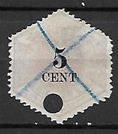 PAYS - BAS      -   Télégraphes   -    1877 .   Y&T  N° 3 Oblitéré  . - Telegraph