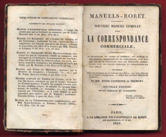 M3-18894 PARIS 1840. Business Correspondence. Book- 342 Pages In French - Boeken, Tijdschriften, Stripverhalen
