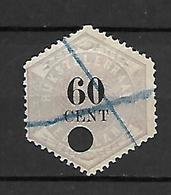 PAYS - BAS      -   Télégraphes   -    1877 .   Y&T  N° 10 Oblitéré  . - Telegraph