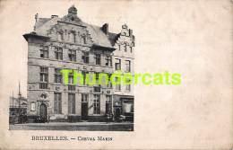 CPA  BRUXELLES CHEVAL MARIN - Maritiem
