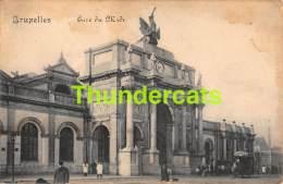CPA  BRUXELLES  GARE DU MIDI - Spoorwegen, Stations