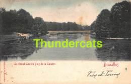CPA  BRUXELLES  LE GRAND LAC DU BOIS DE LA CAMBRE - Forêts, Parcs, Jardins