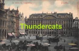 CPA  BRUXELLES  LA MAISON DES CORPORATIONS - Places, Squares