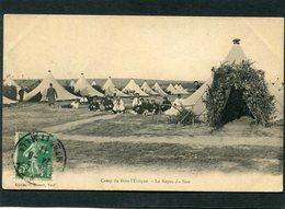 CPA - Camp De Bois L'Evêque - Le Repas Du Soir, Animé - Casernes
