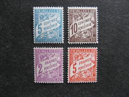 Série De Timbres Taxe D'Andorre N°17 Au N°20, Neufs XX. - Unused Stamps