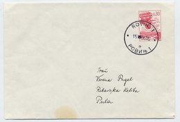 YUGOSLAVIA 1966 0.30d Stationery Envelope Used.  Michel U50 Ia - Postal Stationery