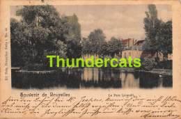 CPA BRUXELLES  SOUVENIR DE LE PARC LEOPOLD NELS SERIE 1 NO 83 - Forêts, Parcs, Jardins