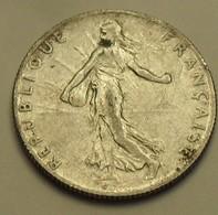 1915 - France - 50 CENTIMES, Semeuse, Argent, Silver, KM 854, Gad 420 - Frankrijk
