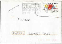 CC ATM TURISMO UTILIZADO EN FRANCIA MAT SENS CDIS - 1931-Hoy: 2ª República - ... Juan Carlos I