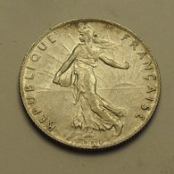 1916 - France - 50 CENTIMES, Semeuse, Argent, Silver, KM 854, Gad 420 - France