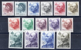 NORWAY 1992-95 King And Queen Definitive Set Of 15 (cheapest Types) MNH / **.  SG 1122-36, Michel 1084 Etc. - Norway