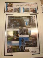 Belgien Jahrgang 2011 Postfrisch Komplett MNH + Schwarzdruck - Belgien
