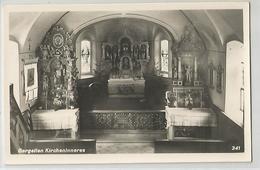 Autriche Austria - Vorarlberg Schruns Gargellen Kircheninneres Intérieur Chapelle église - Schruns