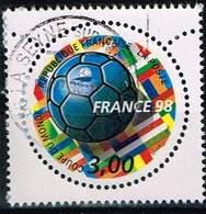 Frankreich 1998, Michel# 3278 O World Cup Football 1998 - Frankreich