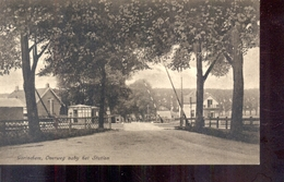 Gorcum - Gorinchem - Overweg - Station - 1923 - Gorinchem