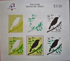 New  Zealand  1989  Mi. Bl.18  MNH - Vögel
