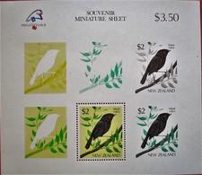 New  Zealand  1989  Mi. Bl.18  MNH - Oiseaux