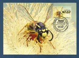 Australien 2014 , Things That Sting - European Waps - Maximum Card - First Day 23 September 2014 - Maximumkarten (MC)
