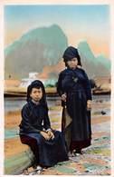 P-T2-18-5617 : NORD VIETNAM. CHOBO. DEUX FEMMES LAOTIENNES. - Laos