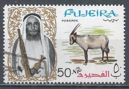 Fujeira 1964. Scott #11 (U) Sheik Hamad Bin Mohammed Al Sharqi And Arabian Oryx * - Fujeira