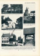 1929 : Belgique, Gaesbeek, Cobbeghem, Termuren, Hal, Lombeck, Saventhem, Stockel, Pont-Brûlé, Page Originale Recto-verso - Old Paper
