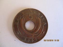 British East Africa: 5 Cents 1942 - Colonie Britannique