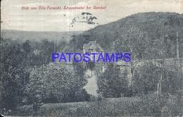 100794 GERMANY VILLA FERNSICHT SCHWENTINENTAL AT RAISDORF POSTAL POSTCARD - Deutschland