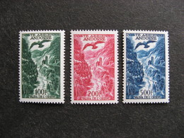 A). TB Série De Timbres D'Andorre PA N°2 Et N° 4, Neufs X. - Poste Aérienne