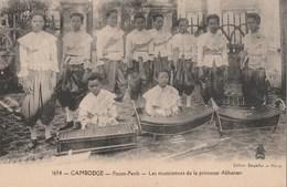 CAMBODGE - PNOM-PENH - GROUPE DE MUSICIENNES DE LA PRINCESSE AKHANARI - BELLE CARTE -  TOP !!! - Cambodja
