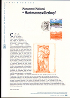 2015, DOCUMENT OFFICIEL DE LA POSTE: Monument Du.Hartsmannwillerkopf - Documents Of Postal Services