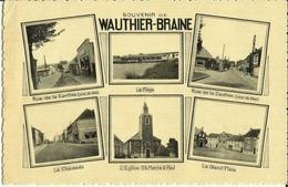 Souvenir De Wauthier - Braine -- Multivues. (2 Scans) - Braine-le-Chateau