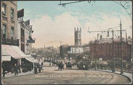 Tramway Centre From College Green, Bristol, 1907 - National Series Postcard - Bristol