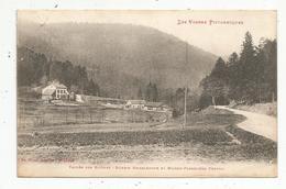 Cp, 88 , Vallée Des RAVINES , Scierie BRISEGENOUX Et Maison Forestière VENIVAL , Voyagée 1923 - Frankreich
