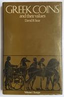 LIVRE - NUMISMATIQUE - EN ANGLAIS - GREEK COINS AND THEIR VALUES - VOLUME I EUROPE- DAVID R. SEAR - 1978 - Livres & Logiciels