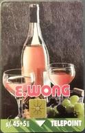 Telefonkarte Peru - Werbung - Wein & Käse - Peru