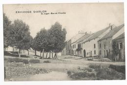 St-Léger Rue De L'Ourthe Carte Postale Ancienne - Saint-Léger