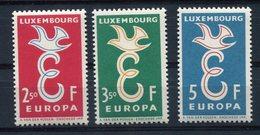 RC 10137 LUXEMBOURG EUROPA N° 548 / 550 EMIS EN 1958 NEUF ** MNH TB - Europa-CEPT