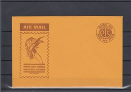 Papua Neu Guinea Postal Stat Unused Cover Air Mail Postage Paid - Papouasie-Nouvelle-Guinée