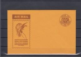 Papua Neu Guinea Postal Stat Unused Cover Air Mail Postage Paid - Papua New Guinea