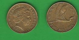 Nuova Zelanda New Zealand 2 Dollars 2002 - Nouvelle-Zélande